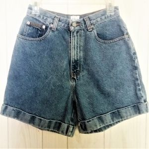 Calvin Klein Vintage High-Waisted Denim Shorts 6